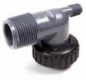 "C10S-PVC 1"" PVC Male NPT Straight Adapters"