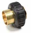 "C10-CT 1"" Brass Sweat Adapters"