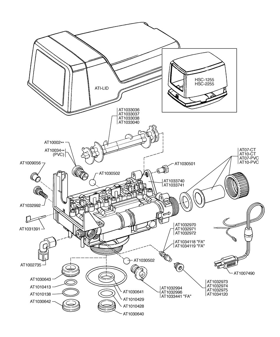 Culligan Water Softener Parts Diagram Changegget
