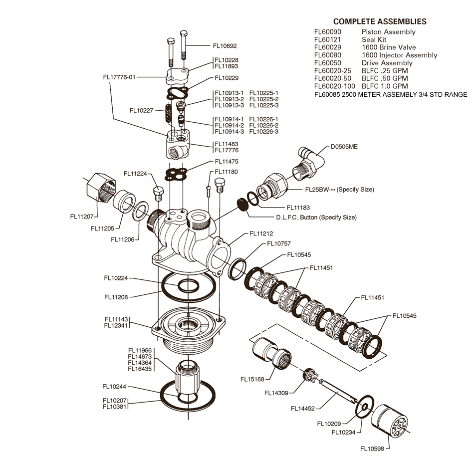 fleck water softener system diagram  fleck  get free image about wiring diagram