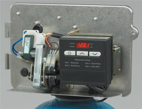 water softener control valve manual